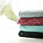 Mobile Preview: STOFFONKEL - BIO JERSEY - MY STRIPES - LINIEN - WELLEN - WEISS - GLETSCHER - GOTS - ORGANIC